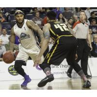 Halifax Hurricanes forward Tyrone Watson vs. the London Lightning in Game 2