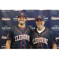 Rafael and Patrick Palmeiro of the Cleburne Railroaders