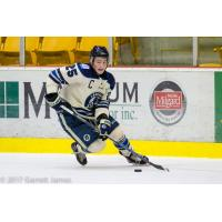 Brendan Budy with the Langley Rivermen