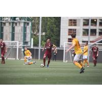 Sacramento Republic FC possesses the ball vs. San Francisco City F.C. in the US Open Cup