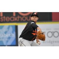 Long Island Ducks pitcher Jake Fisher