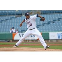 Syracuse Chiefs pitcher Edwin Jackson
