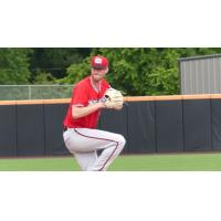 Carolina Mudcats pitcher Cam Roegner