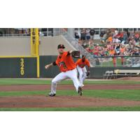 Dayton Dragons pitcher Tyler Mondile