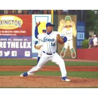 Lexington Legends pitcher Andres Sotillet