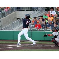 Rafael Palmeiro homers for the Cleburne Railroaders