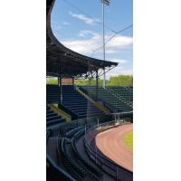 New Protective Netting at Centennial Field, Home of the Vermont Lake Monsters
