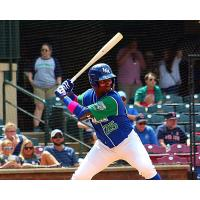 Seuly Matias of the Lexington Legends
