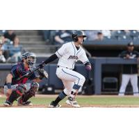 Akron RubberDucks outfielder Andrew Calica