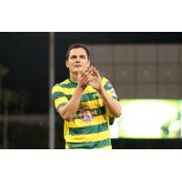 Marcel Schafer with the Tampa Bay Rowdies