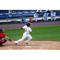 Bengie Gonzalez doubled for the Syracuse Chiefs Wednesday night