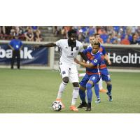 Derrick Jones of Bethlehem Steel FC vs. FC Cincinnati