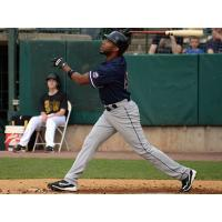 Endy Chavez of the Somerset Patriots