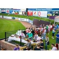 Annie Bailey's Backyard during a Lancaster Barnstormers game