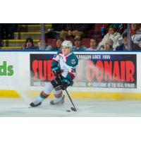 Kyle Topping of the Kelowna Rockets