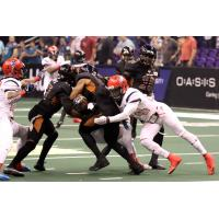 Arizona Rattlers tackled by the Sioux Falls Storm