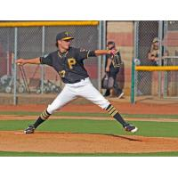 Bristol Pirates pitcher Steven Jennings