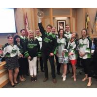 NLL Cups Visits Council Chambers in Saskatoon