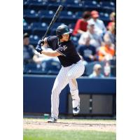 Brandon Drury at bat for the Scranton/Wilkes-Barre RailRiders