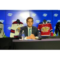 Edmonton Oil Kings President of Hockey Operations and General Manager Kirt Hill