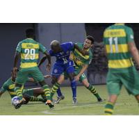 Dominic Oduro of the Tampa Bay Rowdies vs. the Charlotte Independence