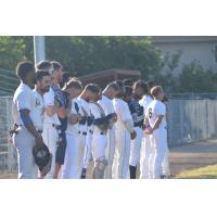 Vallejo Admirals stand at attention