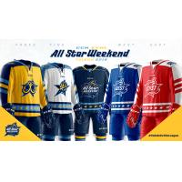 Toledo Walleye All-Star Jersey Collection