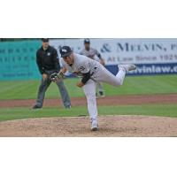 Scranton/Wilkes-Barre RailRiders pitcher Justus Sheffield delivers