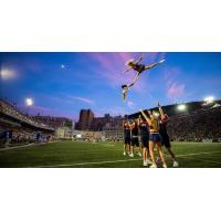 Montreal Alouettes cheer team
