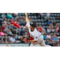 Scranton/Wilkes-Barre RailRiders pitcher Luis Cessa