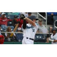 Everett AquaSox catcher Troy Dixon