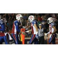 Montreal Alouettes in action
