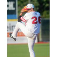 Pitcher Zach Kirby with the Florence Freedom