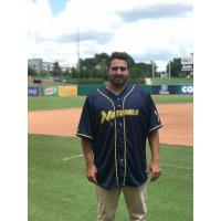 Northwest Arkansas Naturals' Cancer Charity 4 Life jersey