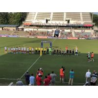 North Carolina Courage pregame