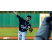 Lakewood BlueClaws pitcher Andrew Brown