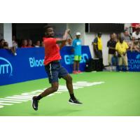 Washington Kastles all-star Frances Tiafoe was pushed to the limit in home opener