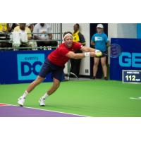 Robert Lindstedt of the Washington Kastles was clutch when he had to be