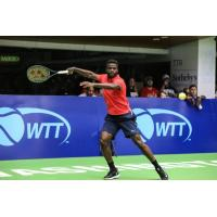 Frances Tiafoe of the Washington Kastles was tested in his first match of the 2018 season