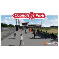 Capital Credit Union Park concourse rendering