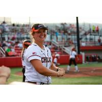 Chicago Bandits second baseman Emily Carosone