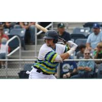 Everett AquaSox at the plate