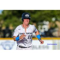 Jack Smith races to second for the Victoria HarbourCats