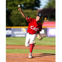 Victoria HarbourCats pitcher Mason Shaw delivers
