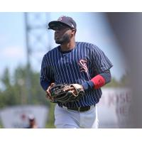 Irving Falu had another hit Friday night for the Syracuse Chiefs
