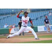 Phillips Valdez threw a quality start Sunday afternoon for the Syracuse SkyChiefs