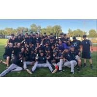 Everett AquaSox celebrate First Half North Division championship