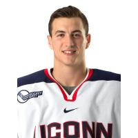 Forward Jesse Schwartz with the University of Connecticut