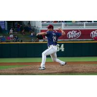 Frisco RoughRiders pitcher Justin Topa