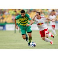 Tampa Bay Rowdies midfielder Leo Fernandes vs. New York Red Bulls II